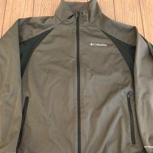 Columbia Sierra Bluff Softshell Jacket Green